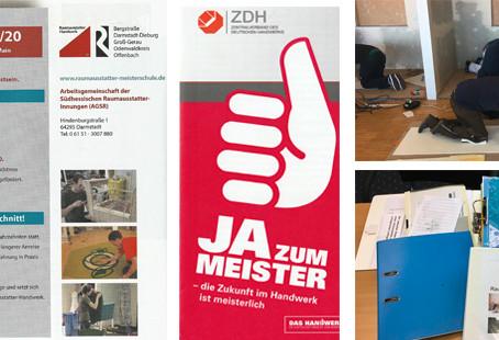Meister-Schulen und Lehrgänge (1): Planungen für den hessischen Raumausstatter-Meisterkurs laufen
