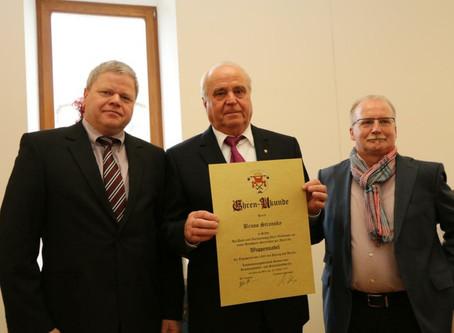 Happy Birthday 80 - Bruno Stransky Ehrenvorstandsmitglied LIV Hessen