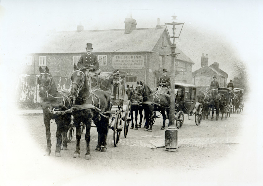 Horse Drawn Funeral Carriages