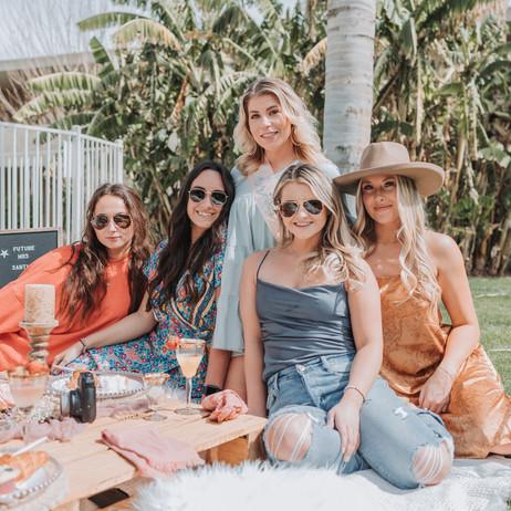 Bachelorette Picnic Party at Scottsdale Palms