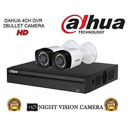 קיט 2 מצלמות אבטחה להתקנה עצמית 2 מגה פיקסל DAHUA
