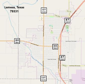 Lamesa TX 79331.png