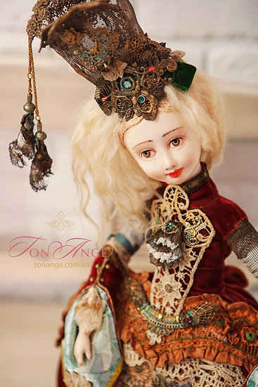 "Кукла ""Гобеленовая принцесса"""
