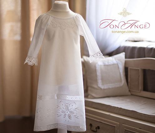 Крестильная рубашка, подарок на крещение