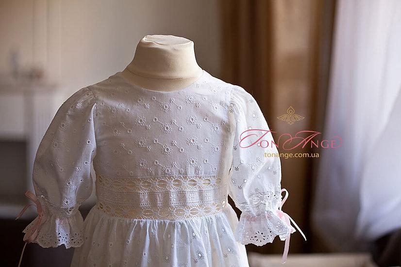 Крестильное платье фото