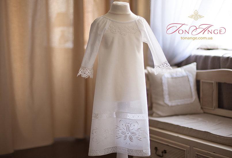 Крестильная рубашка Мамино Солнышко