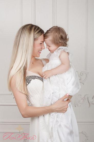 Платье на крестины для ребенка