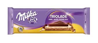 Milka Triolade Tablet 300Gr