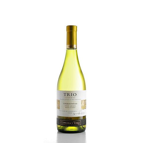 Vinho Concha Y Toro Trio Chardonnay 750ml