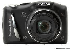 Câmera Digital Canon SX150IS BLK