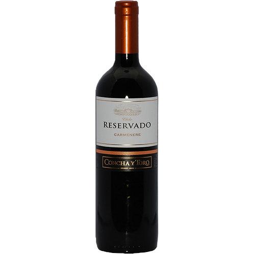Vinho Reservado Concha Y Toro Carmenere 750ml