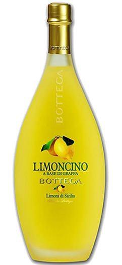 Licor Limoncino Bottega A La Grapa 500ml