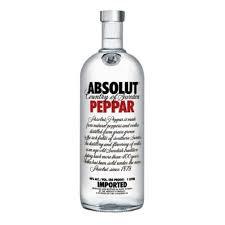 Vodka Absolut Peppar 1lt