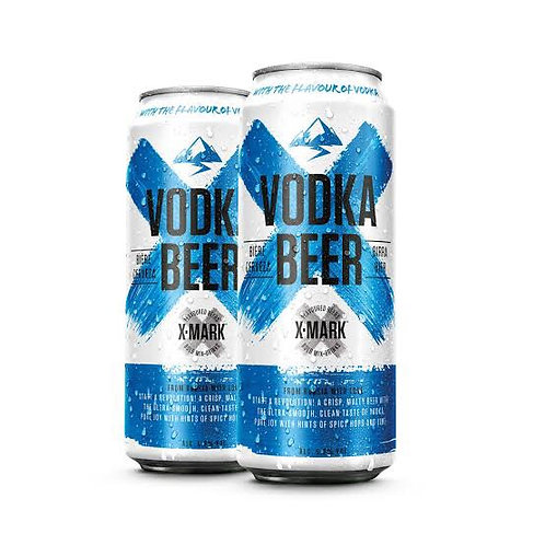 Vodka Beer X-Mark 500ml