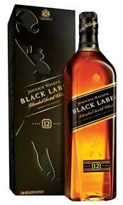 WhiskyJ.Walker Black c/Estojo 1 lt