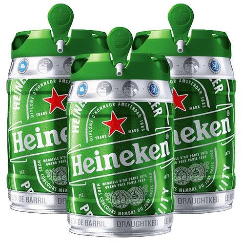Cerveja Barril Heineken 5lt