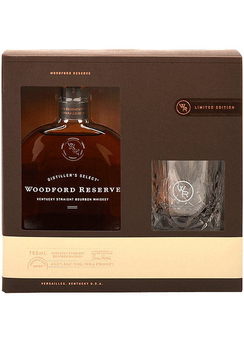 Whisky Woodford Reserve+ copo