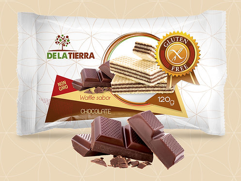 Waffle Chocolate De La Tierra 125gr