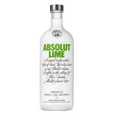 Vodka Absolut Lime 1lt