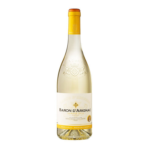 Vinho Baron D'Arignac Moelleux Médium Sweet White 750ml