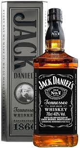 Whisky Jack Daniel's 1lt Old n7 Lata