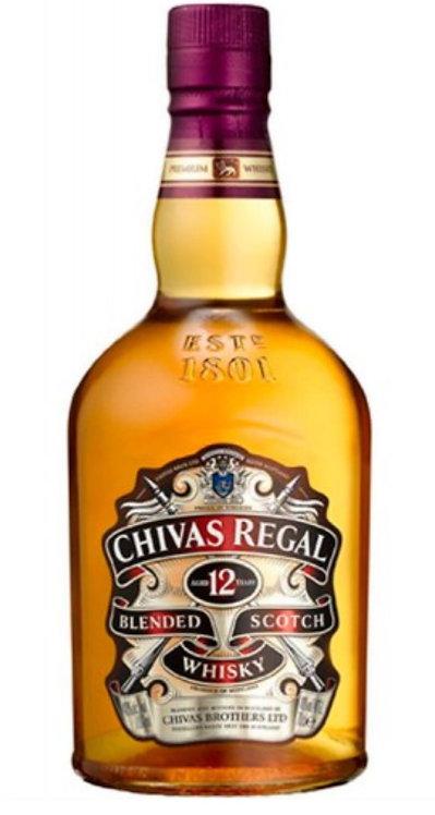 Whisky Chivas Regal 12yo 50cc
