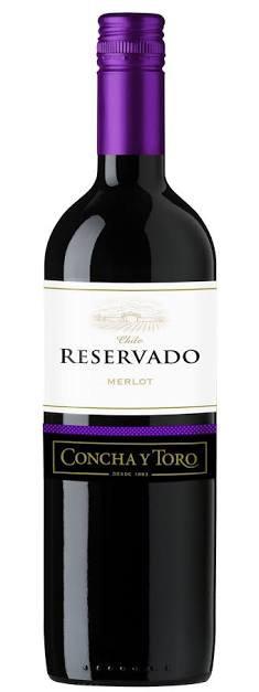 Vinho Reservado Concha Y Toro Merlot 750ml