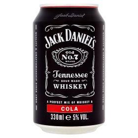 Jack Daniel's & Cola 330ml
