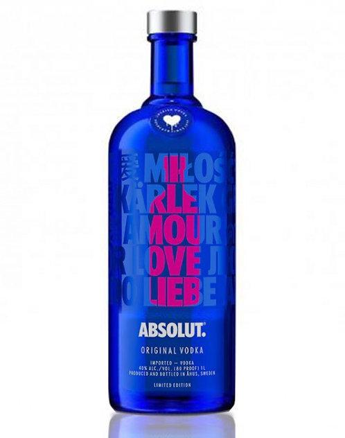 Vodka Absolut Drop Of Love Eoy Limited 1lt