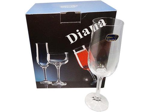 Conjunto Taça Bohemia Diana x 6
