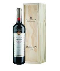 Vinho Família  Preludio Caixa de Madeira  750ml