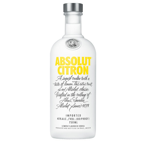 Vodka Absolut Citron 1Lt