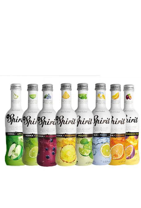 Spirit Mg Vodka/Gin/Whisky 275ml