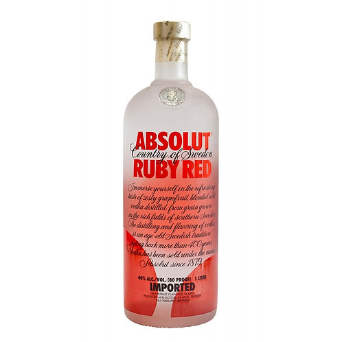 Vodka Absolut Ruby Red 1Lt