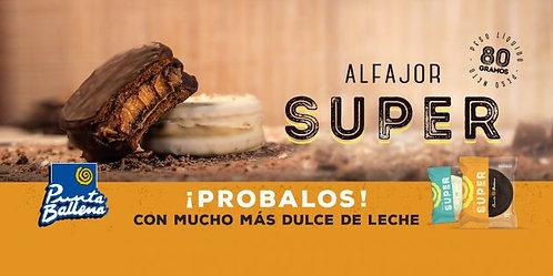 Alfajor Super Punta Ballena C/10