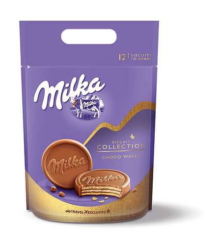 Milka Collection Choco Wafer 360Gr