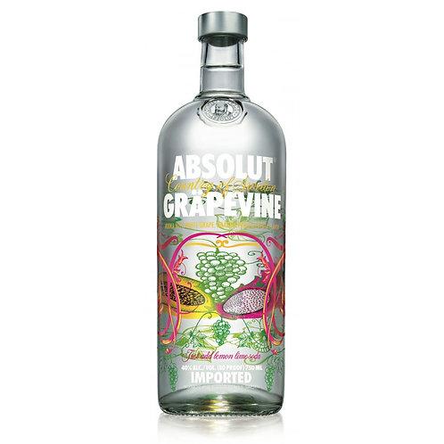 Vodka Absolut Grapevine 1Lt