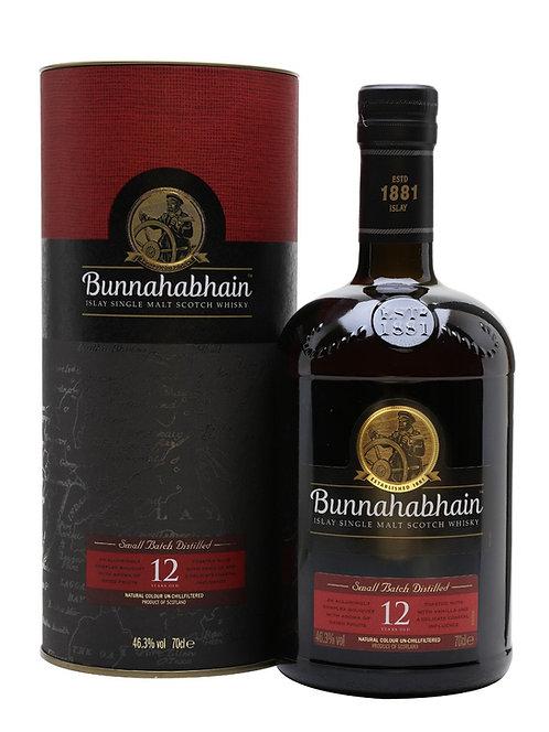 Bunnahabhain 12 yers +Gb 700ml 46,3%