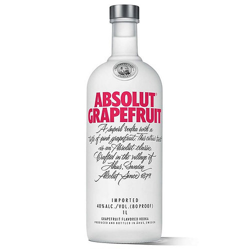 Vodka Absolut Grapefruit 1lt
