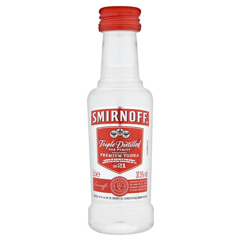 Vodka Smirnoff Red mini 50ml