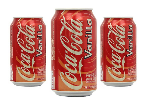 Coca Cola Vanilla Lata 330ml
