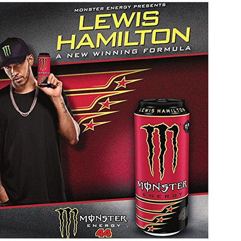 Energético Monster Lewis Hamilton 500ml