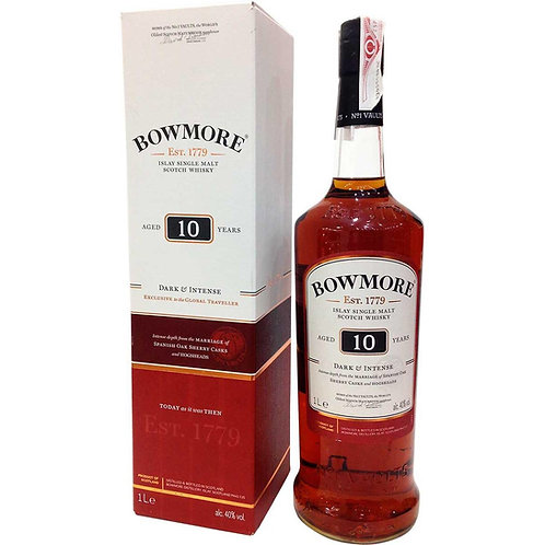 Bowmore 10Y Dark & Intense 1 lt