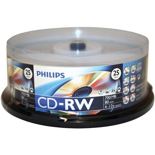 Cd-Rw Philipis Logo