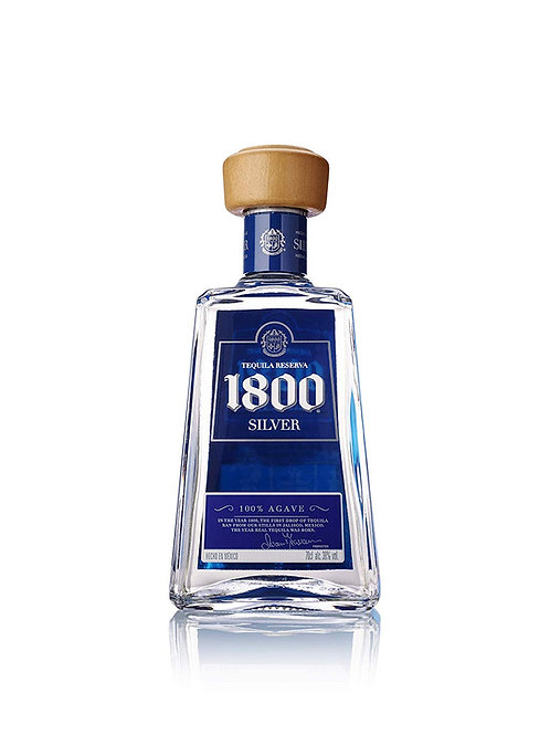 Tequila Jose Cuervo 1800 Silver 750 ml