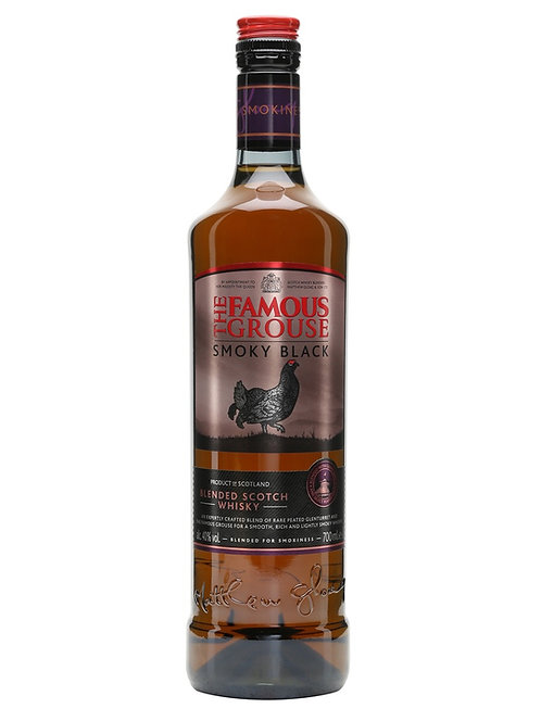 Whisky The Famous Grouse Smoky Black 700ml