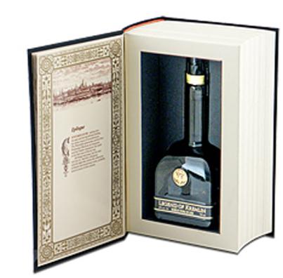 Vodka Legend Of Kremlin Black Book 700ml