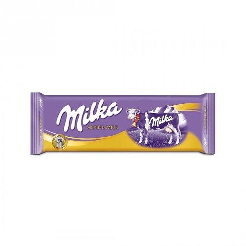 Milka Alpine Milk Tablet 270 Gr