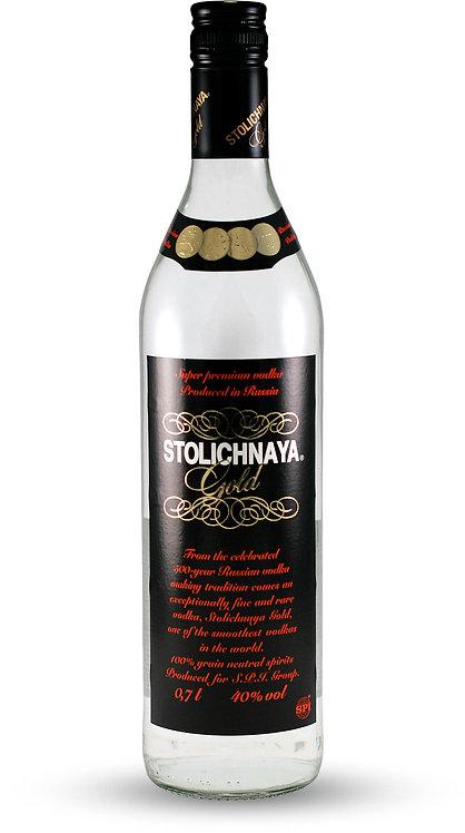 Vodka Stolichnaya Gold 1lt