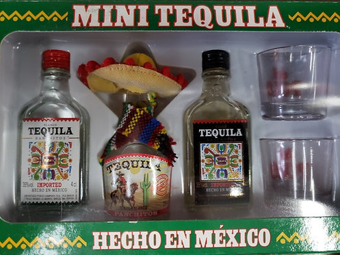 Coleção Mini Tequila 3 x 40ml